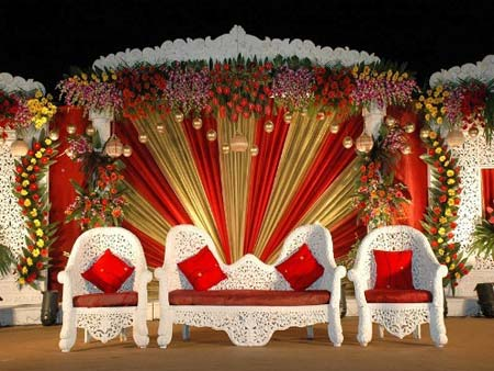 24 Beautiful Wedding Stage decoration ideas- Part II