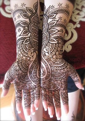 Mehndi Design: For Hands – Part I