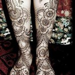 henna for foot