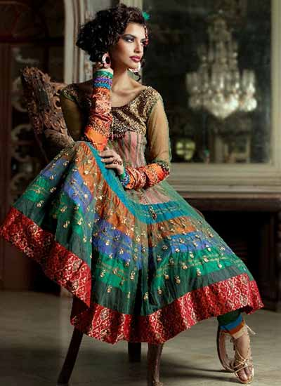 In Vogue Long Anarkali Salwar Kameez