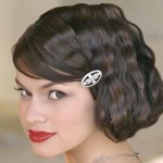 7-Wavy-short-wedding-hairst