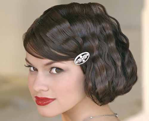Query Time: Suggest Wedding Hair Ideas For Very Short Hair?