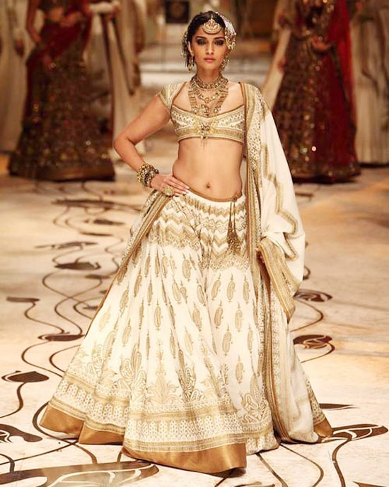 Bridal Lehenga Idea from Ambey Valley Fashion Show