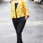 black-pants-with-mustard-jacket