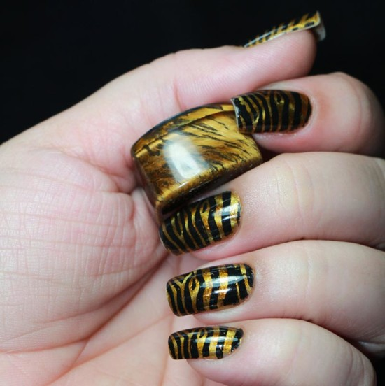 12 Golden Nail Arts I Want To Try