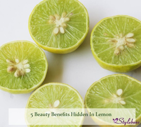 5 Beauty Benefits Hidden In Lemon