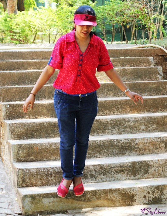 OOTD : Printed Kurta Shirt With Jeans