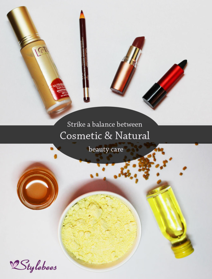 Avoid cosmetics and use best natural skin care products