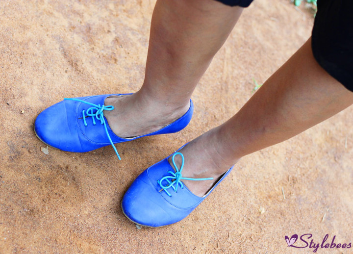 Lavie Blue shoes