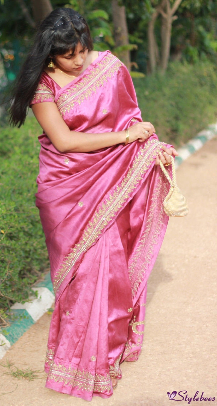 bridal silk saree Bangalore