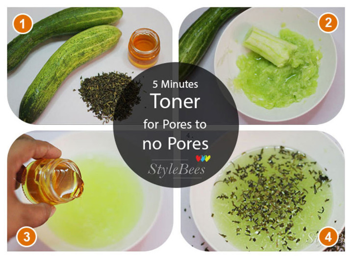 5 Minutes Toner For Pores To No Pores
