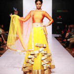 Alpa and reena Lehenga at Bangalore Fashion Week