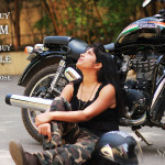 Independence Day styling with Motorcycle