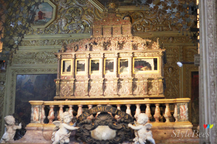 Relics of St. Francis Xavier in goa