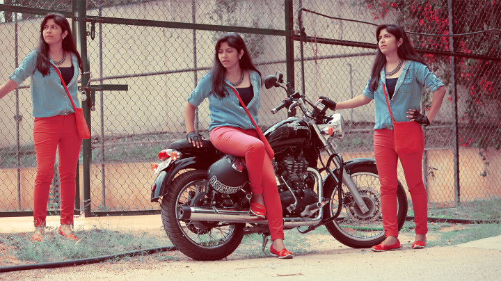 Bike Fashion In Oxolloxo Denims