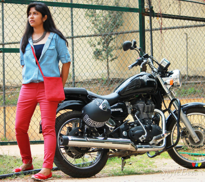 Styling for Royal Enfield Thunderbird