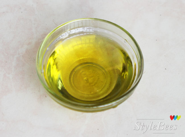 Coconut, castor, almond, olive oil treatment for grey hair cure