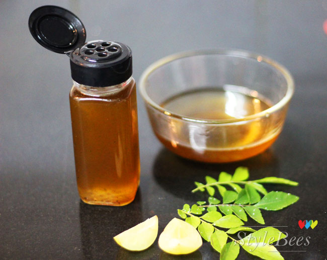 Curry leaves and amla oil for hair grey issues