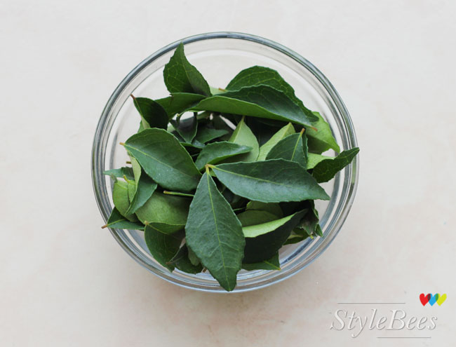 Curry leaves for hair grey issues