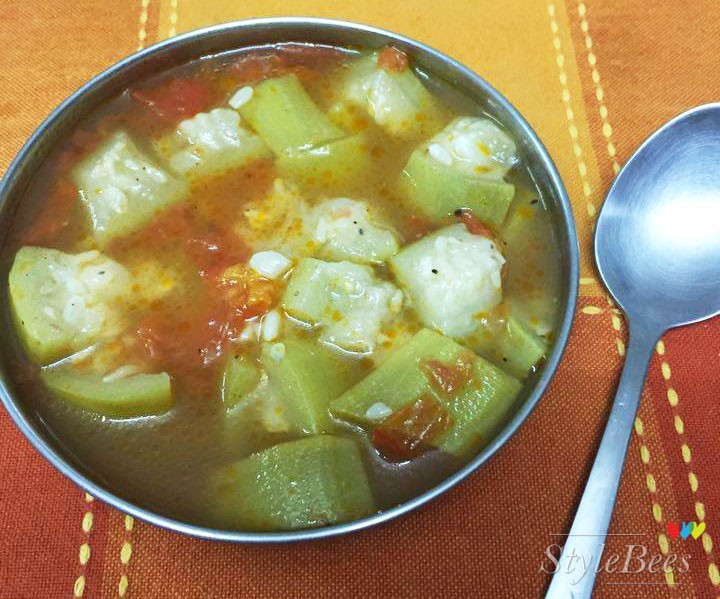 Boiled vegetable is healthy for body