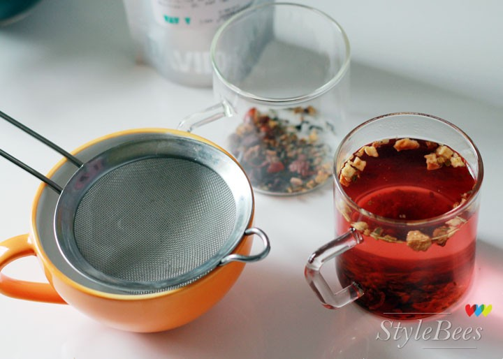 Strain the tea after 5 minutes of pouring boiling water for brewing