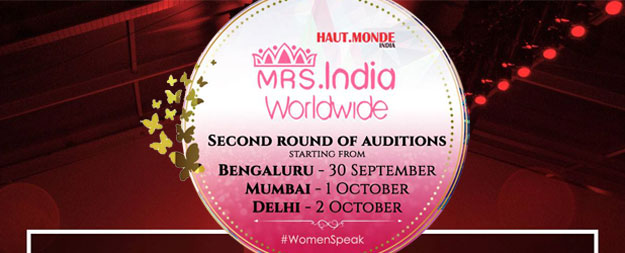 Mrs to Mrs India Worldwide 2016