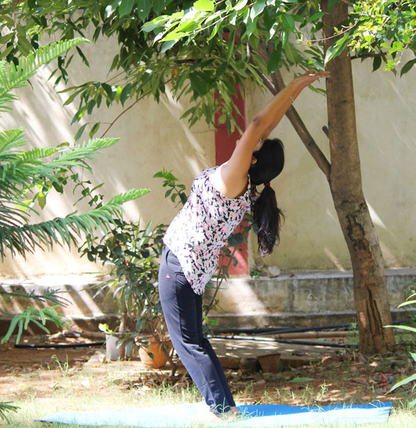 Step 2 - how to do surya namaskar step by step