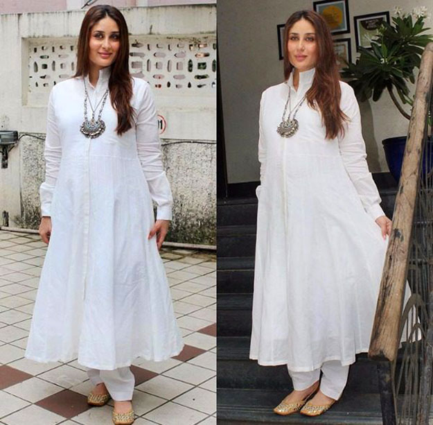 kareena-kapoor-in-anarkali-kurta-for-pregnancy-dress