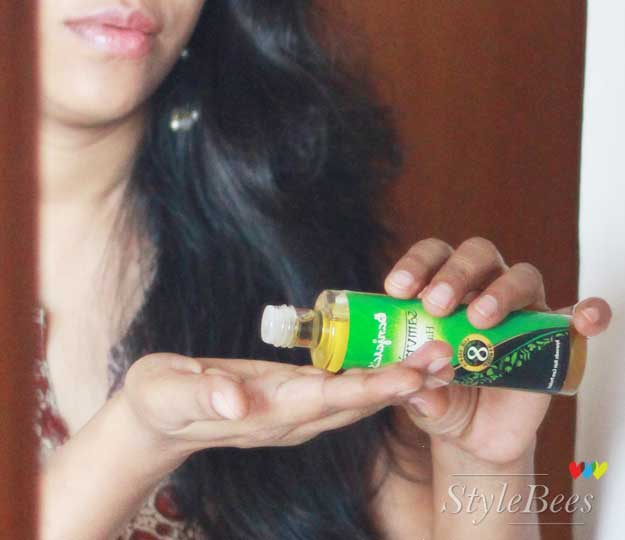 Hair care with natural ayurvedic Banjaras Samvridhi Hair Oil