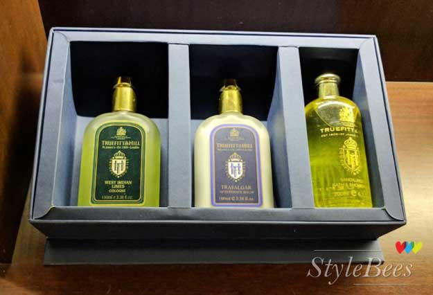 Harmful chemical free grooming products at Truefitt and Hill